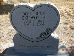 Dixie June <I>Howard</I> Skipworth