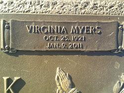 Virginia Elizabeth <I>Myers</I> Carrick