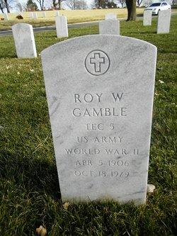 Roy W Gamble