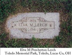 Elva M <I>Pemberton</I> Lerch