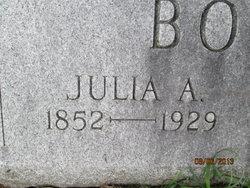 Julia A. <I>Willsey</I> Booth