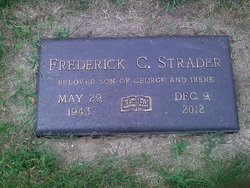 "Frederick C ""Fred"" Strader"