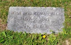 Rosie Bell <I>Gowan</I> Beck