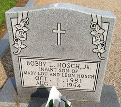 Bobby Lee Hosch, Jr