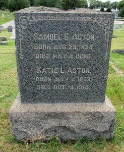 Katie L. <I>Schull</I> Acton