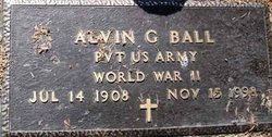 "Pvt Alvin G ""Ted"" Ball"