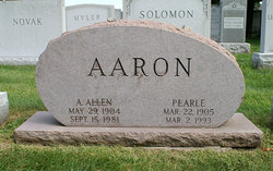 Pearle <I>Poltenson</I> Aaron