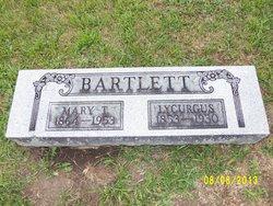 Mary Tennessee <I>Hood</I> Bartlett