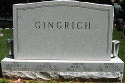 Dorothy May <I>Albright</I> Gingrich