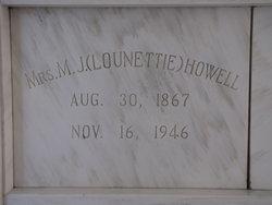 Mrs Lounettie <I>Craig</I> Howell