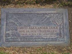 David Alexander Duke
