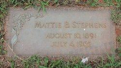 Mattie Berry Stephens