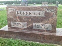 """Elizabeth Katherine """"Lizzie"""" <I>Eibling</I> Ruppright"""