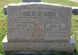 Grace Ora <I>Eggleston</I> Abercrombie