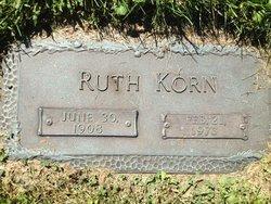 Ruth <I>Lindenbaum</I> Korn