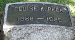 Eloise K Peck