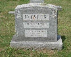 Harold E Fowler