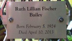 Ruth Lillian <I>Fischer</I> Bailey