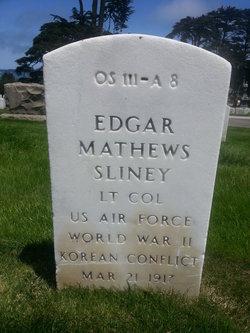 Edgar Mathews Sliney