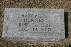 Mary Alice <I>Lyon-Holsey</I> Hughes