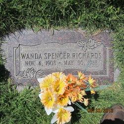 Wanda Lenora <I>Spencer</I> Richards
