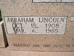 Abraham Lincoln Bruce