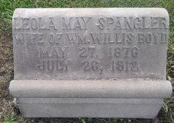 Leola May <I>Spangler</I> Boyd