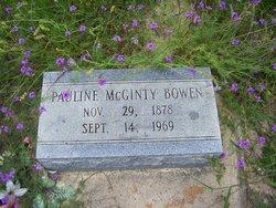 Pauline <I>McGinty</I> Bowen
