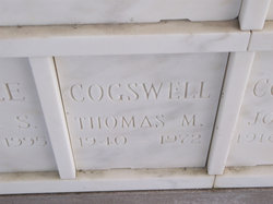 LCDR Thomas Milon Cogswell