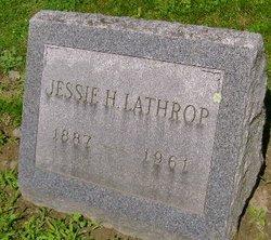 Jessie Helen <I>Little</I> Lathrop