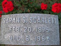 Sarah <I>Schbacker</I> Scarlett