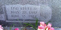 """Lou Reley (Rilley) """"Woodie"""" <I>Quesenberry</I> Moore"""