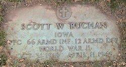 PFC Scott W Buchan
