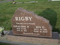 Rex D Rigby