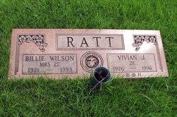 Willa Faye <I>Wilson</I> Ratt
