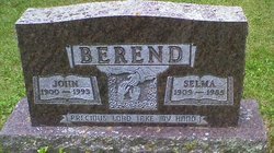 Selma <I>Buehler</I> Berend