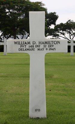 Pvt William Dudley Hamilton