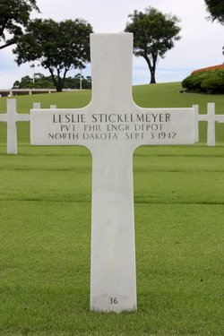 Pvt Leslie Stickelmeyer