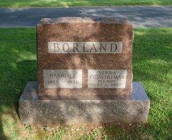 Harold E Borland