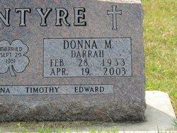 Donna M <I>Darrah</I> McIntyre