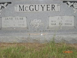 Jane <I>Tubb</I> McGuyer