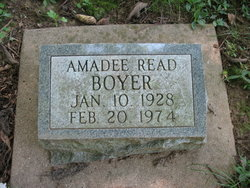 "Amadee ""Rread3@Comcast.Net"" <I>Read</I> Boyer"