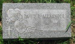 David E Alexander