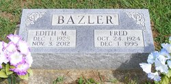 Edith M. <I>Perry</I> Bazler