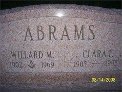 Clara Irene <I>Volk</I> Abrams