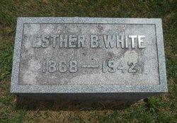 Esther Belle <I>Enlow</I> White