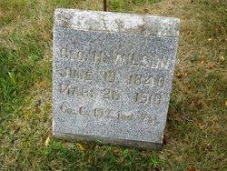 George H Wilson