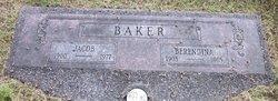 Berendina Catharina <I>Elbert</I> Baker