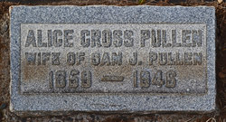 Alice <I>Cross</I> Pullen