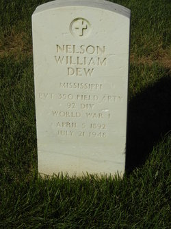 Nelson William Dew